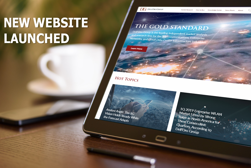 Dell'Oro Group New Website Launced