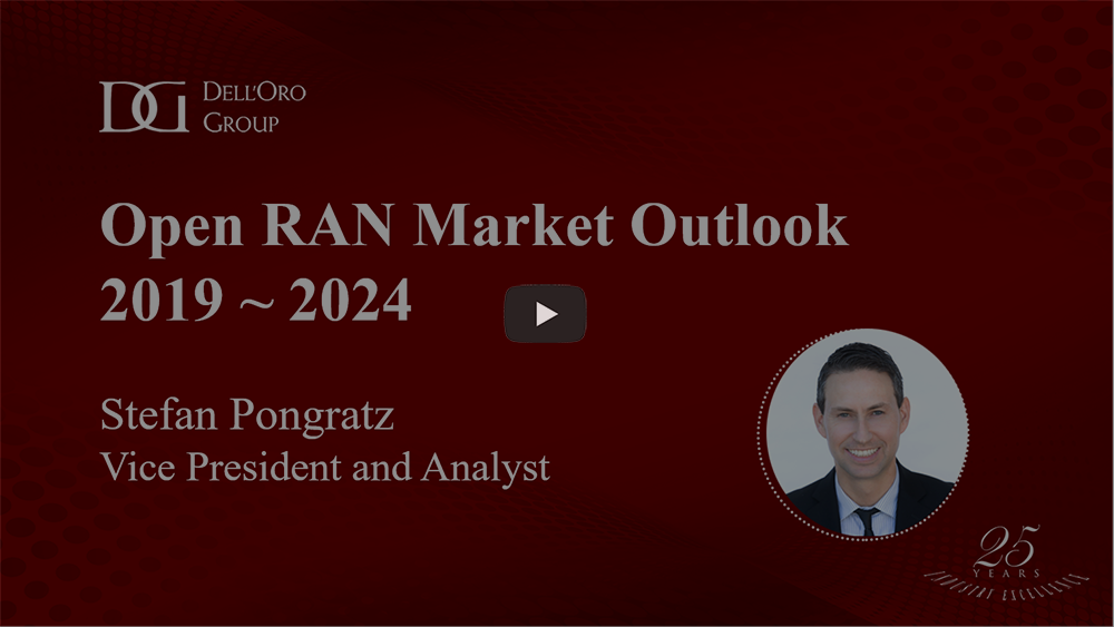 Open RAN market outlook Dell'Oro Group