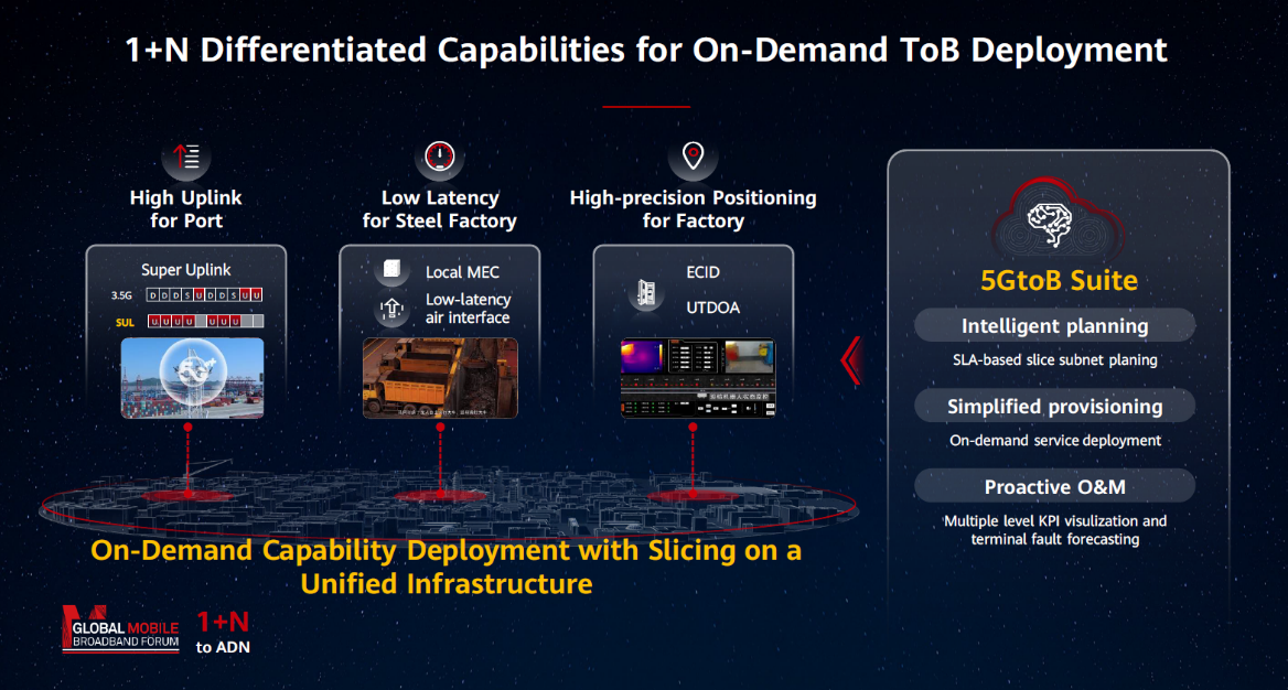 1+N Differentiated Capabilities for On-Demand ToB Deployment