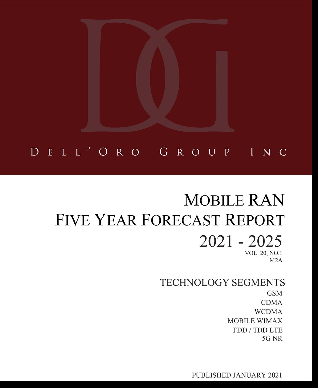 Dell'Oro Group RAN Market 5-Yr Forecast Report Jan 2021