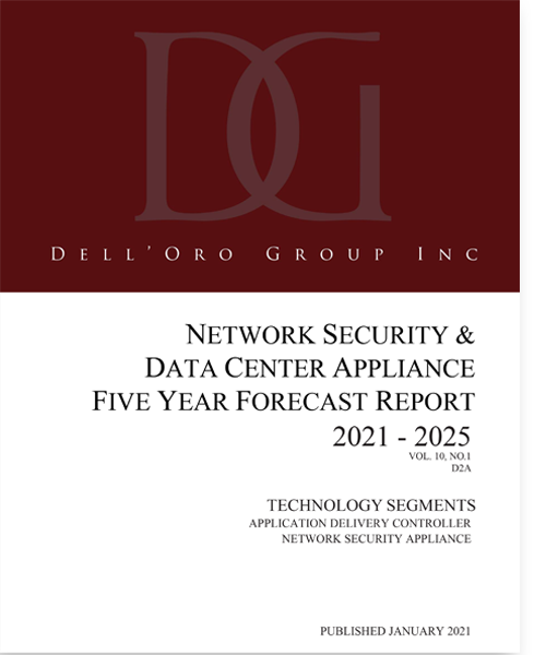 Delll'Oro Group Network Security and Data Center Appliance 5-Year Forecast Report