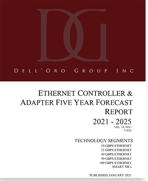 Dell'Oro Group Ethernet Controller and Adapter 5-Year Forecast Report