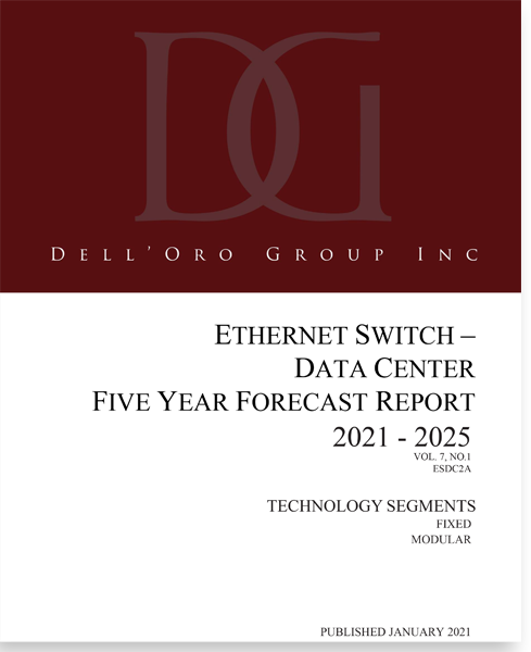 Dell'Oro Group Ethernet Data Center Switch 5-Year Forecast Report
