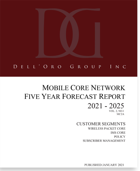 Dell'Oro Group Mobile Core Network 5-Year Forecast Report